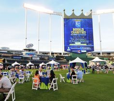 Royals Charities hosted its annual Diamond of Dreams event on Thursday, June 26, which included current and former players, live music, a silent auction and a fireworks show. The event helped raise $140,000, with proceeds benefiting The University of Kansas Hospital's Neonatal Medical Home.