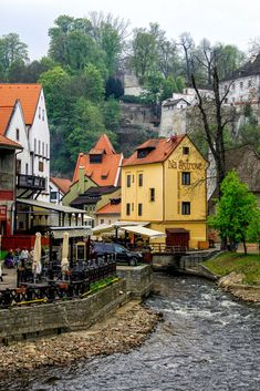 Český Krumlov is considered one of the best small towns in Europe 💚