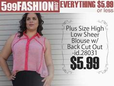 """599fashion.com - Everything $5.99 or Less Check out this weeks """"5 Favorite Picks-PLUS SIZE"""" http://www.599fashion.com/Picks-of-the-Week-PLUS-SIZE_c_513.html"""