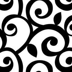 "Shades 32.7' x 20.5"" Curling Leaf Wallpaper"
