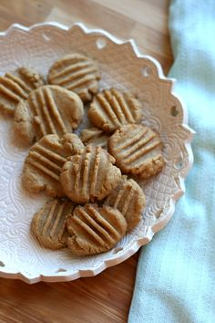Gran's Butterscotch Cookies. Butterscotch to me is like rain trickling on the windowpanes. It's a comforting flavor and dear followers....read this blog about her Gran's cookies; it is absolutely precious.