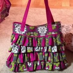 9b9529c04f My imitation Vera Bradley purse is finally done!