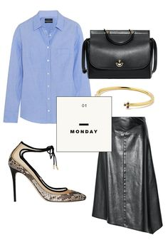 What You Should Wear to Work This Week: An Outfit a Day via @WhoWhatWearAU