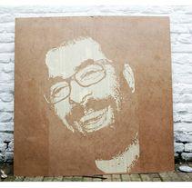 proceso retrato Jag Stone , 2013.