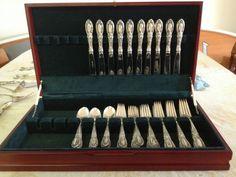 Sterling Silver Flatware Set Towle King Richard Pattern No Monogram   eBay