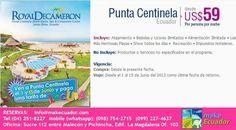 Decameron Punta Centinela precio de locura $59 x NOCHE! RESERVA YA info@makecuador.com (04)2518227