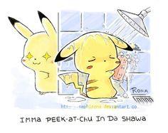 Imma Peek At Chu Da Shawa = booty