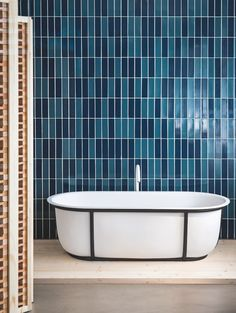 Cuna bathtub by Patricia Urquiola for Agape
