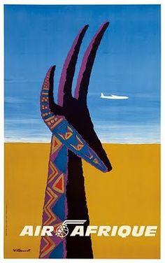 Bernard Villemot Air Afrique