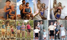 Siblings hilariously recreate photographs from their childhood - Laughter - Dinner Recipes