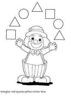 Shape Worksheets For Preschool