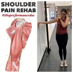 Sometimes I like to take a global approach in the early phase. Focusing on big movement patterns that involve t-spine, median nerve, and posterior cuff. Shoulder Rehab Exercises, Shoulder Stretches, Back Pain Exercises, Shoulder Workout, Shoulder Pain Relief, Neck And Shoulder Pain, Neck And Back Pain, Cervical Pain, Median Nerve