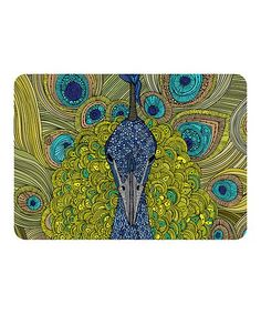 Loving this Peacock Premium Comfort Mat on #zulily! #zulilyfinds