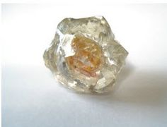 "One of a kind GIA Certified as a ""Natural Diamond"" Certified Geologist tested: six-sided - ""polycrystalline diamond"""