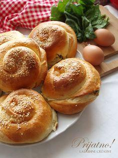 La cuisine creative: Pužići sa spanaćem i sirom (foto priprema)
