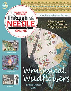 Through the Needle Online Magazine from BERNINA - Issue #3 www.bernina.com