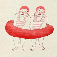 red cheeks factory: aqua-jogging