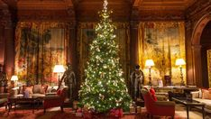 Celebrate the Holidays at These Festive Luxury Hotels   Departures School Holidays, Tis The Season, Hotel Offers, National Trust, Christmas Tree, Seasons, Antiques, Holiday Decor, House