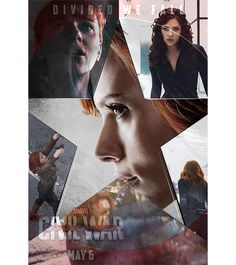 3 of 5. - Source: franklcastle on tumblr. Captain America: Civil War character posters: #TeamIronMan - Natasha 'Black Widow' Romanoff. - Click through for the motion poster.
