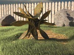 Garden Gnome by LuxXeon #3d #3ds #max #render #cg #cgi #spiral #swirl #sacred #geometry #surface #math #geometric #geometrism #polygon #generative #parametric #design