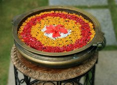 Flower rangoli designs are the most special ones, that is used among the many cultures. Check out some of the latest floral rangoli designs you should try in this