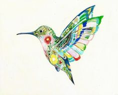 my latest birdie - click to buy a print