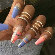 Ριитєяєѕт ongles en 2019 plaid nails, nails et p Plaid Nail Art, Plaid Nails, Easter Nail Designs, Nail Art Designs, Creative Nail Designs, Nails Design, Fancy Nails, Trendy Nails, Dope Nails
