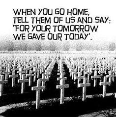 Thank you veterans...