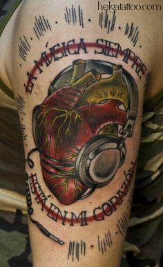 татуировка сердце в наушниках Tattoo Photos, Girl Tattoos, Vodka Bottle, Tattoo Women, Tattoo Girls, Tattooed Girls, Female Tattoos