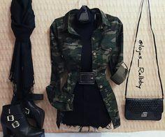 """595 curtidas, 38 comentários - lojas Ralbby (@lojas_ralbby) no Instagram: """"Não é de hoje que o estilo militar tomou conta das passarelas e dos guarda-roupas das it-girls!!!…"""""""