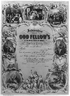 Independent-order-of-odd-fellows-of-the-United-States-of-America-Photograph