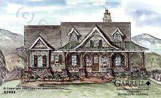 Verona house plans and house on pinterest for Garrell builders