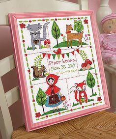 Love this Little Red Riding Hood Cross-Stitch Kit on #zulily! #zulilyfinds
