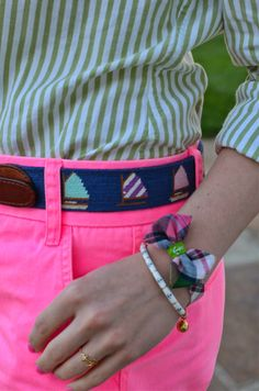 S&B Brand Needlepoint Belt Giveaway