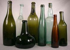 18th century wine bottles
