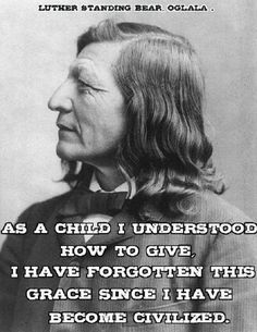 Luther Standing Bear 1868 - 1939 @ Ya-Native.com