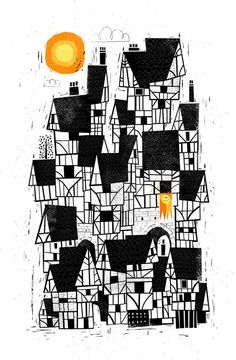 Tudor House by Peter Donnelly, via Behance