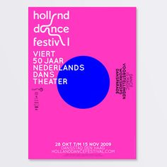 Holland Dance Festival 2009 by SILO - WE LOVE BRANDS , via Behance