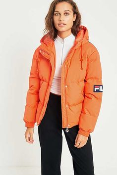 FILA - Doudoune orange
