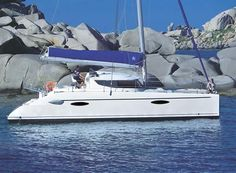 Most Popular Charter Catamaran Brands are Lagoon, Nautitech and Fountaine Pajot