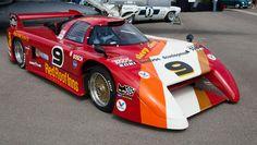 MARCH 82G GTP designed by Adrian Newey