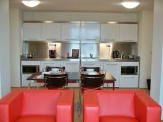 Nido Spitalfields cluster kitchen | Elfin Kitchens