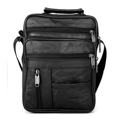 Cheap men crossbody bag, Buy Quality bag man small directly from China messenger bag men Suppliers: Dreamlizer Real Cowhide Leather Men Handbags Black Male Messenger Bags Men's Small Strap Adjustable Briefcase Man Crossbody Bags Handbags For Men, Black Handbags, Leather Handbags, Black Leather Messenger Bag, Messenger Bag Men, Cowhide Leather, Cow Leather, Mens Crossbody Bag, Mens Travel