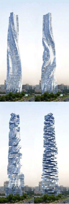 Rotating Tower - Dubai, United Arab Emirates