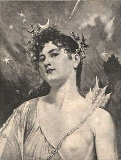 Goddess Aradia | Aradia was a Moon Goddess from Tuscany, honored by the witches of that region but not well known outside of Italy until in 1899, when the American folklorist Charles Leland published Aradia, or the Gospel of the Witches She could take on the form of a cat.