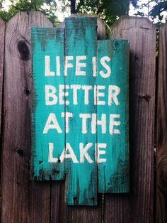 Life at the Lake by HarleyandElise on Etsy