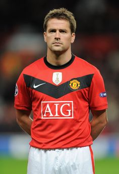 Michael Owen. Love Michael. Always a tad weird having him in our colours, but he loved his time at United. Glad he came to us for a spell.
