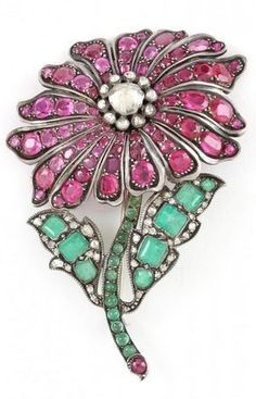 #Rubyanddiamond #Emerald #Brooch #Pins #Jewellery