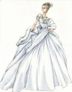 Anna Karenina costume sketches-myLusciousLife.com-Jaqueline Durran white opera gown.jpg