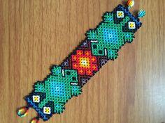 Huichol beaded bracelet 6.5 16 cm long. by ArtesaniasBatyah